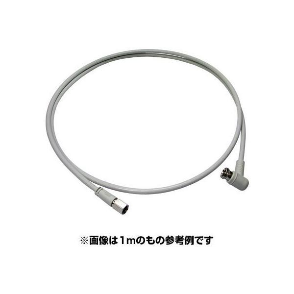 同軸ケーブル #3312A-4C FL 0.5m/1m/1.5m F型 + L型 プラグ 接栓 アンテナ F+L|shins|02