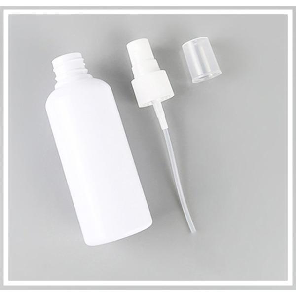 携帯用 スプレーボトル 100ml 【1本】 PET 白 アトマイザー スプレー ボトル|shins|02