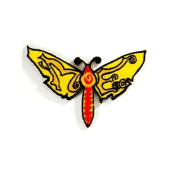 アイロンワッペン ワッペン 動物・魚・生き物ワッペン 刺繍ワッペン トンボ アイロンで貼れるワッペン