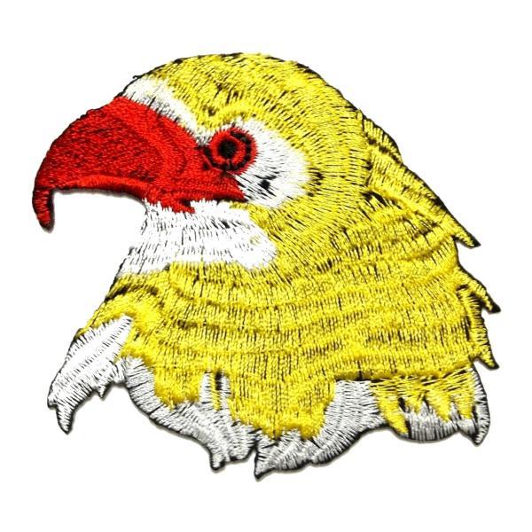 アイロンワッペン ワッペン 動物・魚・生き物ワッペン 刺繍ワッペン アイロンで貼れるワッペン