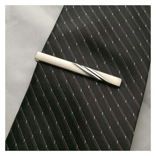 ネクタイピン ブランド 紳士屋 おしゃれなシルバーネクタイピン プレゼントにも最適なタイピン   日本製 半永久メンテ・修理|shinshiya-store|05