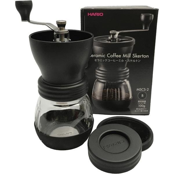 コーヒーミル コーヒー豆 セット コーヒー豆と手動コーヒーミルセット MSCS-2B ブラック 送料無料 最安値に挑戦|shinsyu-coffee|03