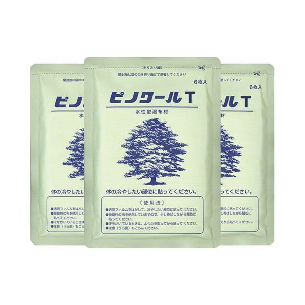 冷却シート / ピノクールT(ピノクールAのリニューアル商品) / 1袋×6枚入×10袋セット / アイシング /  大協薬品工業