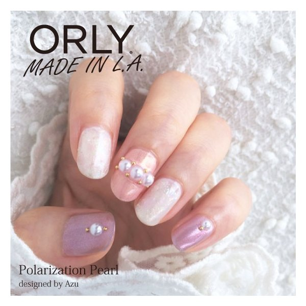 ORLY オーリー ネイル ラッカー マニキュア 品番 48656 グレープグリッツ 5.3mL ピンク パープル パール カラー ORLY JAPAN 直営店|shinwa-corp|07
