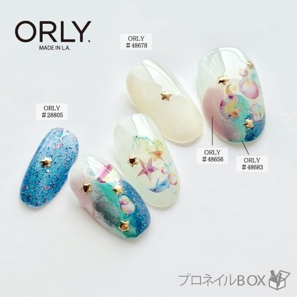 ORLY オーリー ネイル ラッカー マニキュア 品番 48656 グレープグリッツ 5.3mL ピンク パープル パール カラー ORLY JAPAN 直営店|shinwa-corp|08