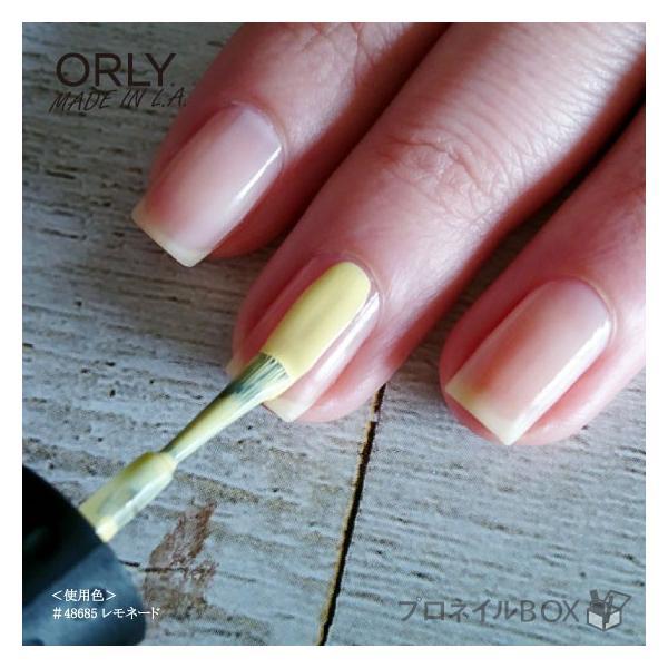 ORLY オーリー ネイル ラッカー マニキュア 品番 48685 レモネード 5.3mL パステル イエロー 黄色 マットカラー ORLY JAPAN 直営店|shinwa-corp|05