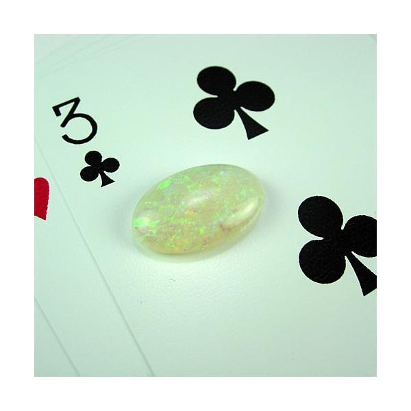 オパール 5.51ct グリーン美斑 ジュエリールース dc950