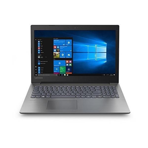 81D1008HJP ノートパソコン Ideapad (アイデアパッド )330 オニキスブラック [15.6型 /intel Celeron /HDD:1TB /メモリ:4GB /2018年6月モデル]の画像