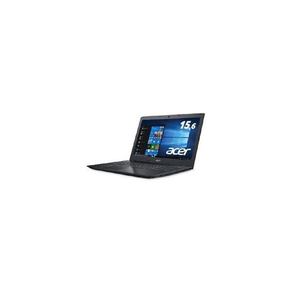 ACER E5-576-F54D/KF ノートパソコン Aspire E 15 オブシディアンブラック [15.6型 /intel Core i5 /HDD:500GB /メモリ:4GB /2018年11月モデル]の画像