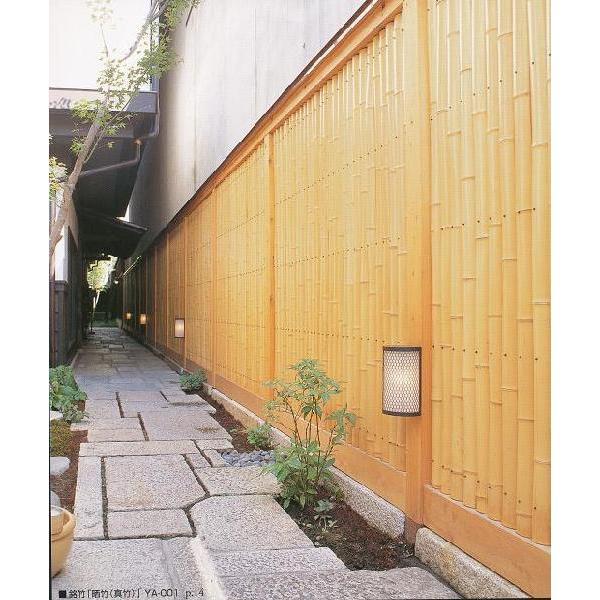銘竹ボード 晒竹半割 ヨコ手貼 6×3尺|shioken|03