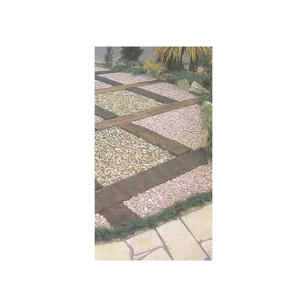 化粧砂利 プレシャスチッピング ディックイエロー(石灰岩) 15kg|shioken|02