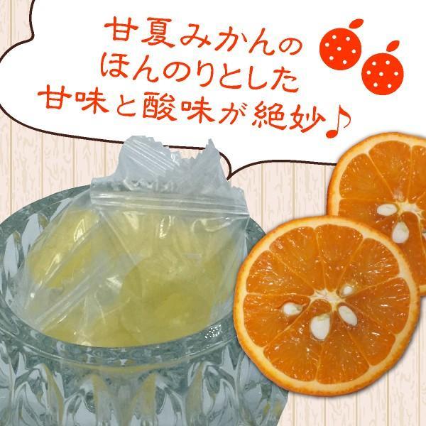 甘夏の果汁入り「甘夏みかんキャンディー」 お得な5袋セット(450円/袋)|shioyu-naginoto|02