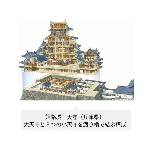 香川元太郎さん 城郭復元イラストクリアファイル shirobito 05