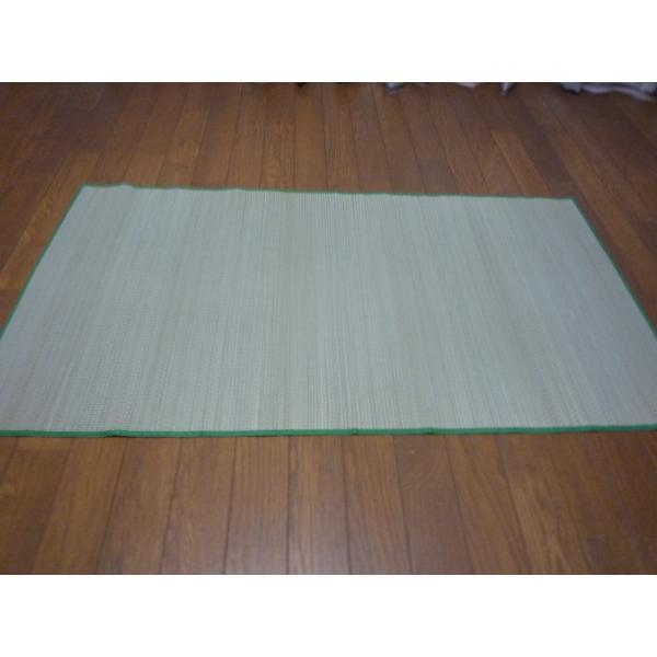 い草マット いぐさシーツ 純国産/日本製 ちょこっとござ  敷パッド約60cm×120cm shiromaru-store 07