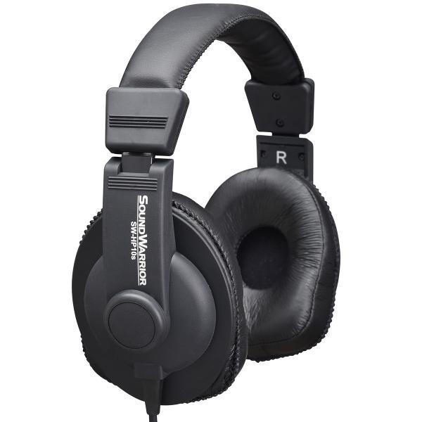SOUNDWARRIOR モニターユース・ヘッドホン SW-HP10s|shiroshita|02