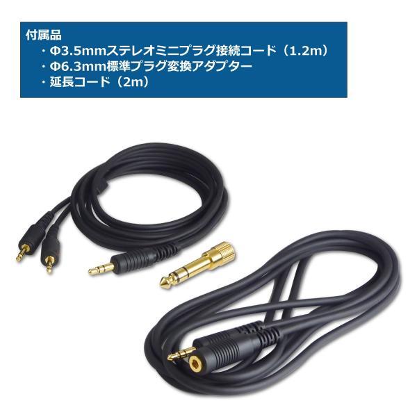 SW-HP20-B リスニングユース・ヘッドホン / サウンドウォーリアーSOUND WARRIOR(さうんどうぉーりあ)|shiroshita|05