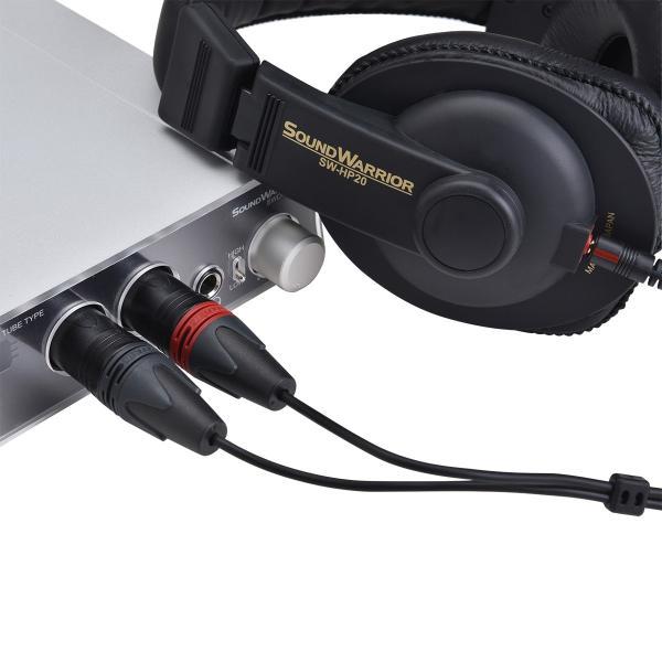 SOUNDWARRIOR SW-HP20用 バランス型XLR接続コード SWA-HP20-XLR|shiroshita|04