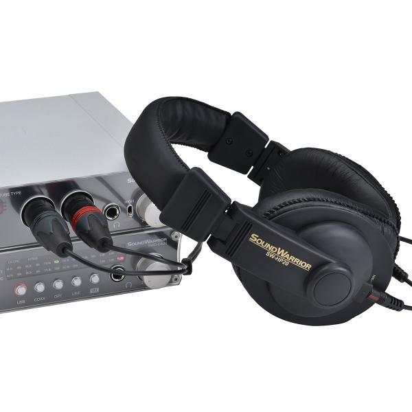 SOUNDWARRIOR SW-HP20用 バランス型XLR接続コード SWA-HP20-XLR|shiroshita|05