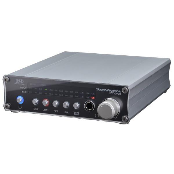 SWD-DA20 高機能USB D/Aコンバーター[SW Desktop-Audioシリーズ] サウンドウォーリアーSOUND WARRIOR(さうんどうぉーりあ) shiroshita