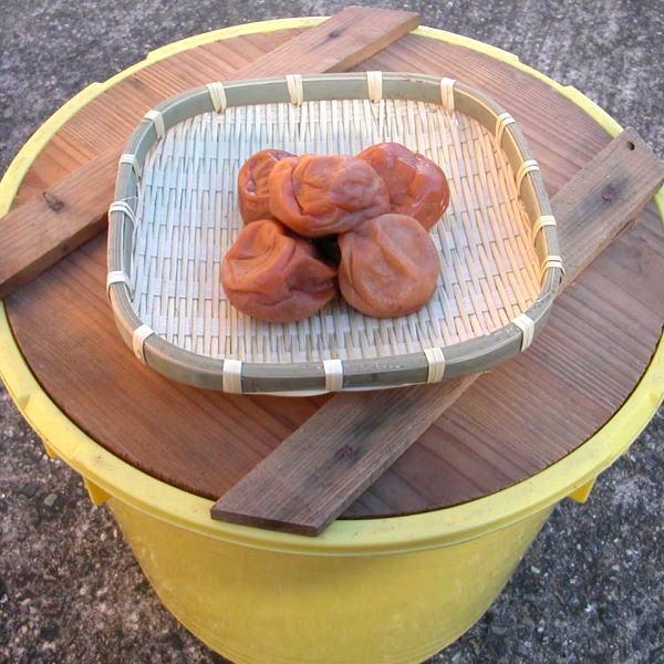白山農園 無添加 昔ながらの梅干し10kg 樽入り 和歌山県産 紀州南高梅