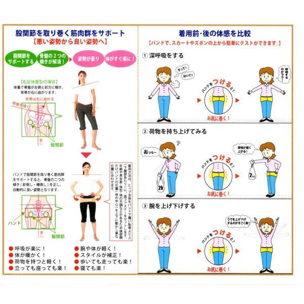 骨盤ベルト 銅・ネオバランサーバンド 腰部・股関節サポート 男女兼用 ナカイ健康姿勢研究所|shiroyayouhin|07