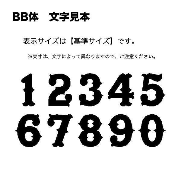 アルファベット&数字 アイロン ワッペン(オーダーふち刺繍/BB体/5cm or 6cm)|shishuatelier|05