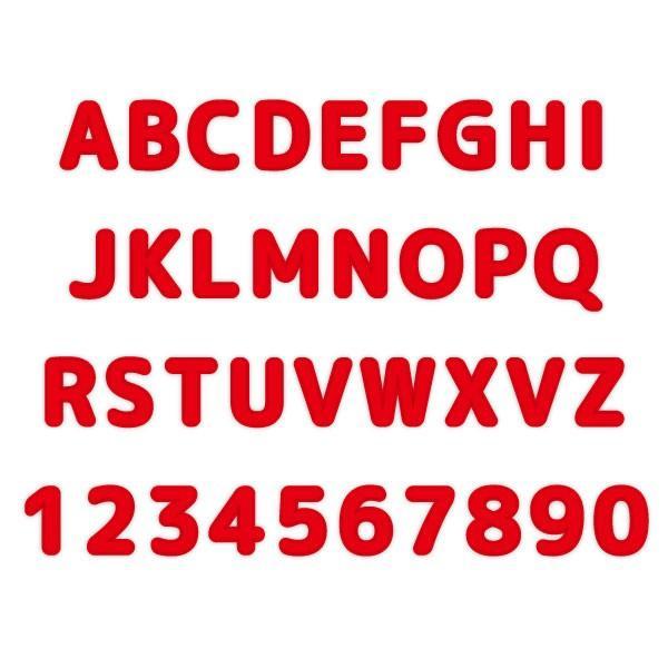 プチプラ! アイロン接着アルファベット&数字ワッペン ふち刺繍(丸ゴシック体/16色)オリジナルお名前アイロン接着アップリケ|shishuatelier|03