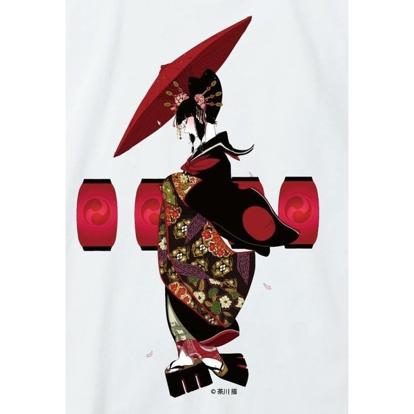 禿ーKAMURO-吉原の灯 思春期マーブルTシャツ|shisyunki|03