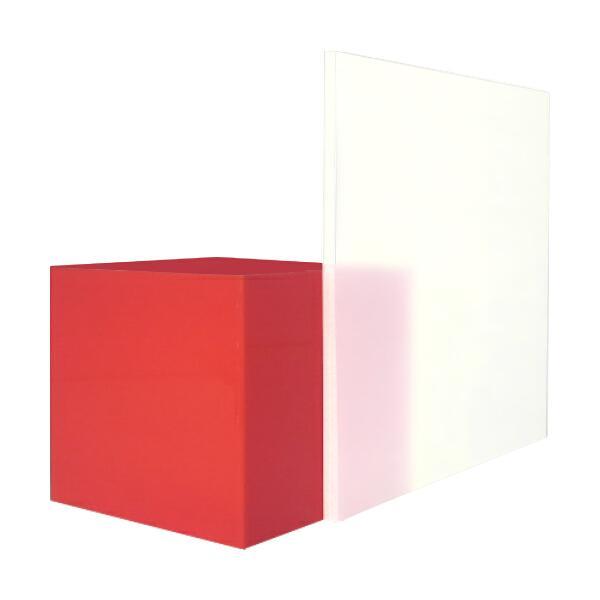 日本製 アクリル板 乳半両面マット艶消し(押出板) 厚み5mm 300X450mm 縮小カット1枚無料 カンナ・糸面取り仕上(エッジで手を切る事はなし)
