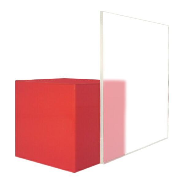 日本製 アクリル板 透明両面マット艶消し(押出板) 厚み2mm 200X300mm 縮小カット1枚無料 カンナ・糸面取り仕上(エッジで手を切る事はなし)