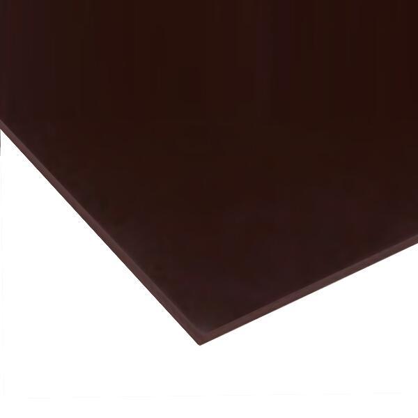 日本製 パラグラス アクリル板 チョコレート(キャスト板) 厚み5mm 350X540mm 縮小カット1枚無料 カンナ糸面取り仕上エッジで手を切る事はありません(業務用)