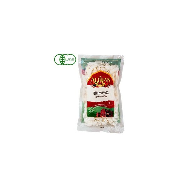 有機ココナッツチップス(100g) アリサン