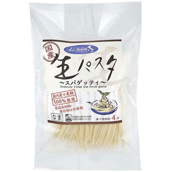 国産小麦の生パスタ(スパゲッティ)(200g(100g×2)) 本田商店