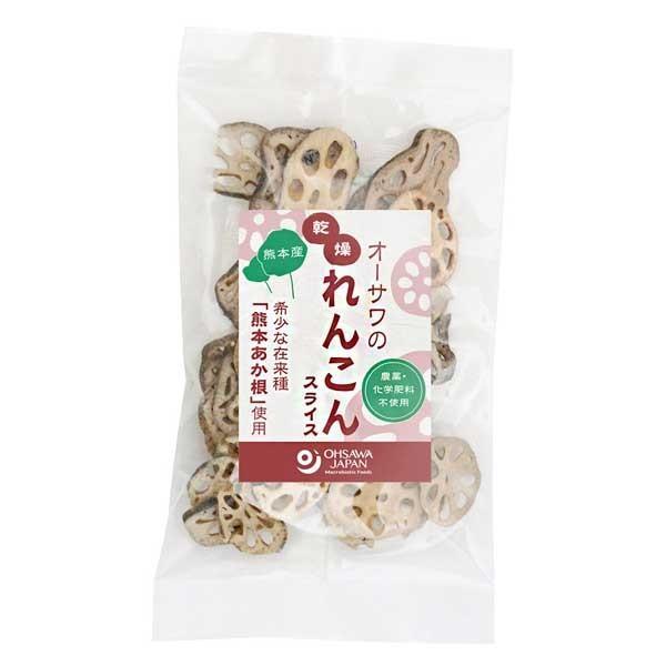 オーサワの乾燥れんこん(スライス)熊本産(30g) オーサワジャパン 数量限定