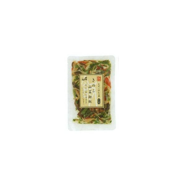 きのこ山菜御飯(110g(2合用)) 小川の庄