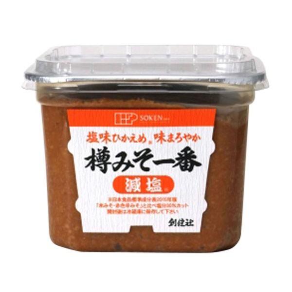 樽みそ一番(減塩)カップ(750g) 創健社