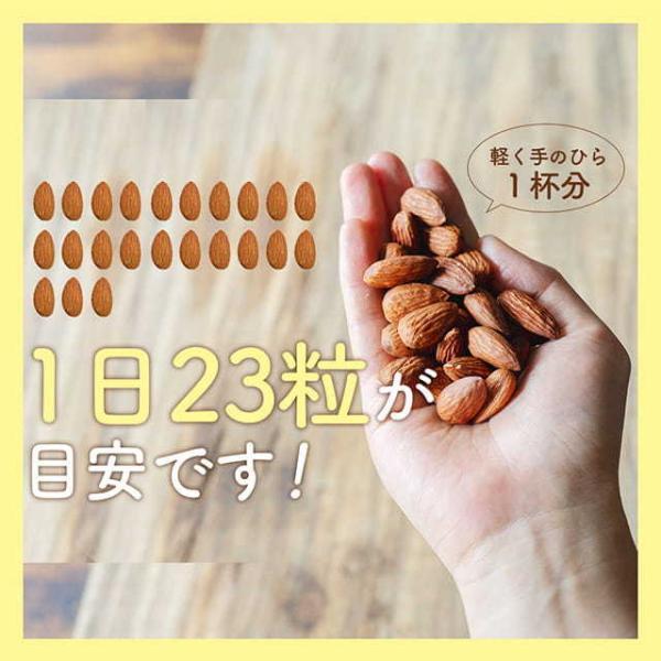 素焼きアーモンド 送料無料 ナッツ アーモンド ロースト 1kg 無添加無塩 素焼き 素煎り 自然の館訳あり ポイント消化 セール スーパーフード|shizennoyakata|10