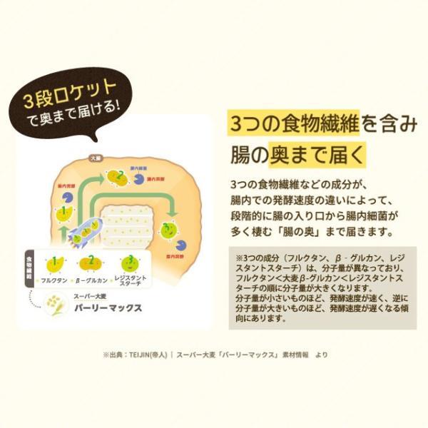 送料無料 雑穀 スーパー大麦 バーリーマックス ヘルシー 大麦 バーリーマックス 800g(400g×2) ダイエット 無添加 糖質 オフ 大腸活 食物繊維|shizennoyakata|07