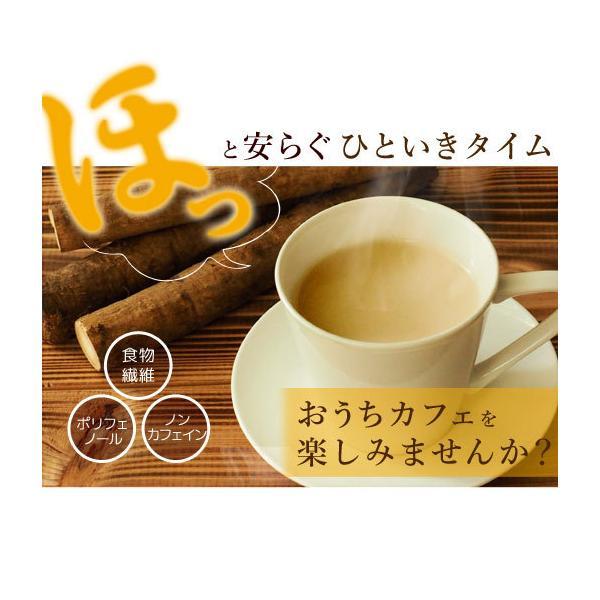ごぼう茶 ラテ 送料無料 牛乳いらず ごぼう茶ラテ 2個セット 120g(約8杯分)×2  ごぼう 牛蒡 ゴボウ ごぼう茶 茶 ラテ カフェインゼロ 食物繊維 ポリフェノール|shizennoyakata|14