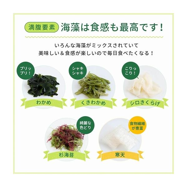福袋 海藻サラダ まとめ買い 送料無料 寒天海藻サラダ 4袋セット 1040g(260g×4) ダイエット 業務用 SPセット|shizennoyakata|06