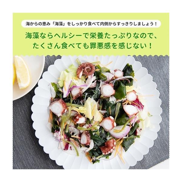 福袋 海藻サラダ まとめ買い 送料無料 寒天海藻サラダ 4袋セット 1040g(260g×4) ダイエット 業務用 SPセット|shizennoyakata|07