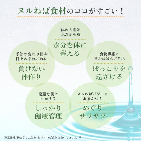 送料無料 ヌルねば料理に使うおいしい具材 40g×2 湯戻し簡単 時短 おくら ねばねば ネバネバ きのこ わかめ 海藻 サラダ 丼|shizennoyakata|15