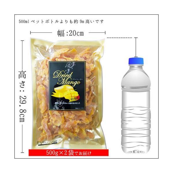 マンゴー わけあり訳あり マンゴー ドライマンゴー 不揃いの端っこセブ島半生ドライマンゴー 1kg(500g×2) 送料無料 ポイント消化|shizennoyakata|12
