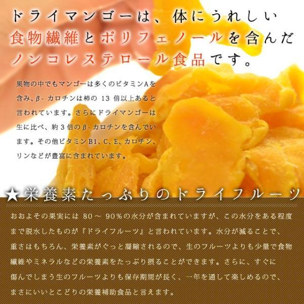 マンゴー わけあり訳あり マンゴー ドライマンゴー 不揃いの端っこセブ島半生ドライマンゴー 1kg(500g×2) 送料無料 ポイント消化|shizennoyakata|05