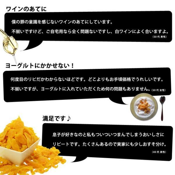 マンゴー わけあり訳あり マンゴー ドライマンゴー 不揃いの端っこセブ島半生ドライマンゴー 1kg(500g×2) 送料無料 ポイント消化|shizennoyakata|09