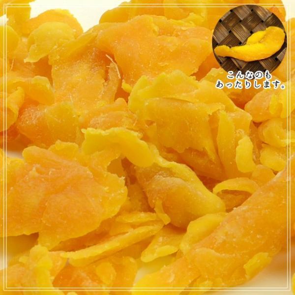 マンゴー わけあり訳あり マンゴー ドライマンゴー 不揃いの端っこセブ島半生ドライマンゴー 1kg(500g×2) 送料無料 ポイント消化|shizennoyakata|10