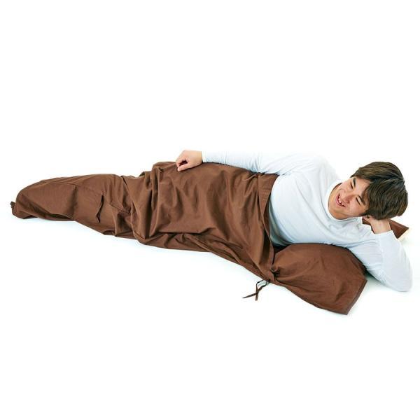 寝袋 シーツ インナーシュラフ 封筒型 超軽量 コットン インナー トラベルシーツ 洗濯可能 携帯バッグ付き スパルタックス|shizenshop|12