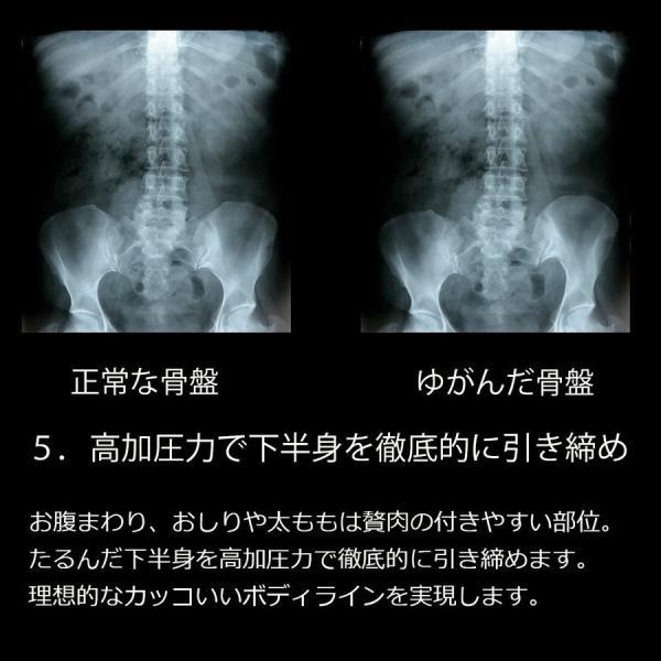 加圧パンツ 加圧ロングスパッツ 機能性インナー メンズ ロングタイツ ももひき 腰痛サポート 加圧下着 足痩せ 防寒 スポーツ用インナー スパルタックス|shizenshop|12