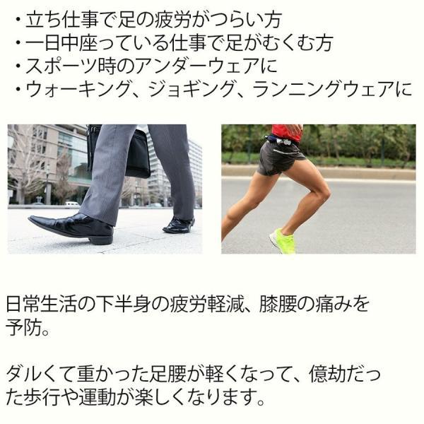 加圧パンツ 加圧ロングスパッツ 機能性インナー メンズ ロングタイツ ももひき 腰痛サポート 加圧下着 足痩せ 防寒 スポーツ用インナー スパルタックス|shizenshop|19