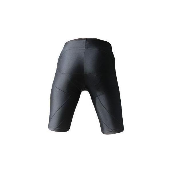 パンツ 加圧スパッツ メンズ 加圧下着 加圧パンツ トレーニングパンツ ハーフパンツ スパルタックス3枚セット|shizenshop|03